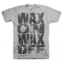 Wax On Wax Off T-Shirt Grå