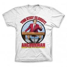Anchorman You Stay Classy T-Shirt Vit