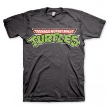 TMNT - Classic Logo T-Shirt Mörkgrå