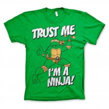 TMNT - Trust Me, I´m A Ninja T-Shirt! Grön