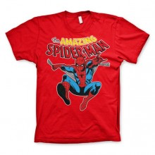 The Amazing Spiderman T-Shirt Röd