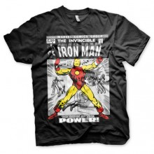 Iron Man Cover T-Shirt Svart