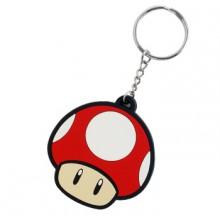 Nintendo Röd Svamp Nyckelring