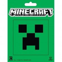 Minecraft Creeper Face Klistermärke