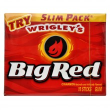 Wrigley's Big Red Cinnamon Slim Pac