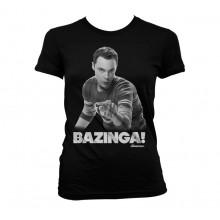 Sheldon Says BAZINGA! Tjejtröja