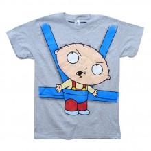 Stewie in baby Sling T-Shirt