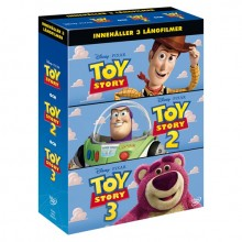 Toy Story 1-3 Box DVD