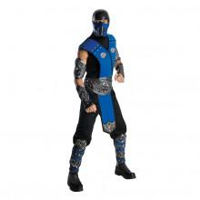 Mortal Kombat Sub-Zero Maskeraddräkt