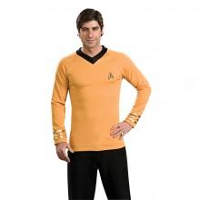 Star Trek Classic Deluxe Guld Skjorta