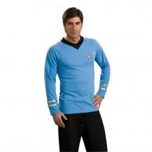 Star Trek Classic Deluxe Blå Skjorta