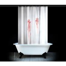 Blodigt Duschdraperi