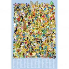 Simpsons - Cast 2012 Poster
