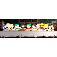 South Park Last Supper Affisch