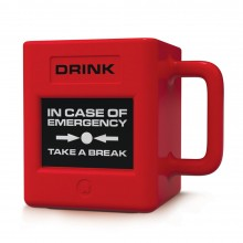Emergency Take A Break Mugg