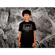Minecraft Periodic Table Barn T-shirt