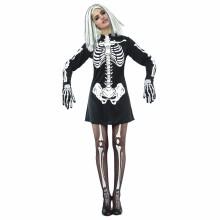 Skelettklänning Maskerad