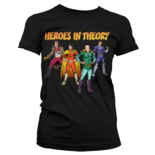 The Big Bang Theory - Heroes In Theory Dam T-shirt