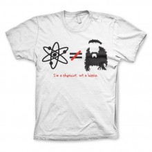 The Big Bang Theory - I'm A Physicist, Not A Hippie T-Shirt