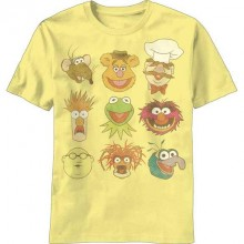 The Muppets Vintage Faces T-shirt