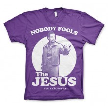 Big Lebowski Nobody Fools The Jesus T-Shirt
