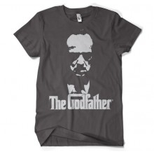 The Godfather Shadow T-Shirt Mörkgrå