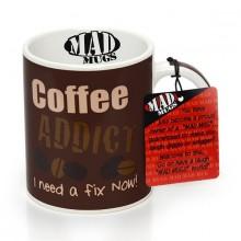 Kaffe Beroende Mugg