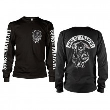 Sons Of Anarchy Backpatch Long Sleeve