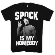 Star Trek Spock Is My Homeboy T-Shirt