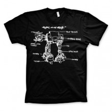 Star Wars AT-AT Sketch T-Shirt