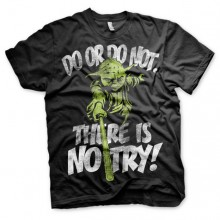 Star Wars There Is No Try - Yoda T-Shirt