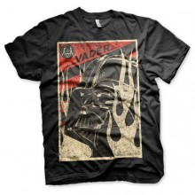 Star Wars Darth Vader Flames T-Shirt