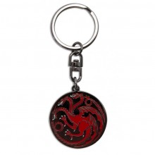 Game Of Thrones Targaryen Nyckelring