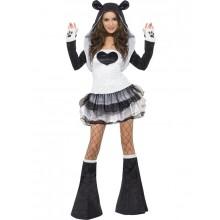 Sexig Panda-Kostym