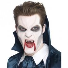Vampyrtänder med fästmassa