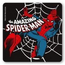 Marvel Spindelmannen Drinkunderlägg Svart 6-pack