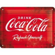 Plåtskylt Coca-Cola