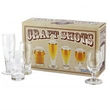 Shotglas Craft Beer 4-pack