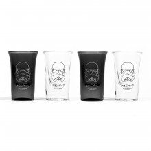 Star Wars Shotglas Stormtrooper 4-pack