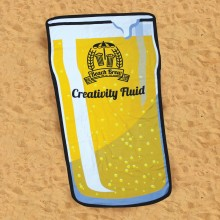 Strandhandduk Ölglas