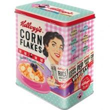 Plåtburk Retro Kellogs Cornflakes
