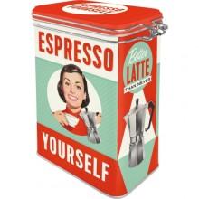 Kaffeburk Retro Espresso Yourself