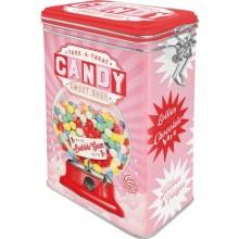 Plåtburk Retro Candy