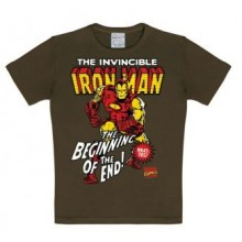 Marvel Iron Man T-Shirt Barn Brun