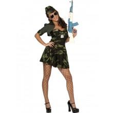 Militärsnygging-dräkt