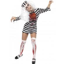 Zombiefånge-dräkt dam