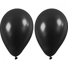 Svarta Ballonger 10-pack
