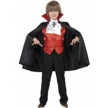 Greve Dracula Maskeraddräkt Barn