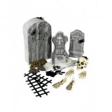 Halloween Dekoration 24 delar
