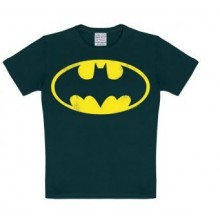 Batman Logo T-Shirt Barn Svart